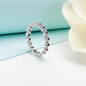 Band of Hearts Ring